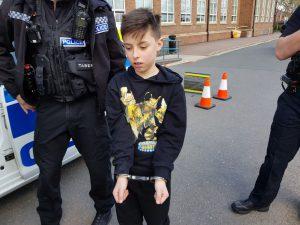 To było próbne aresztowanie